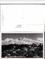 481502,India Darjeeling Kanchenjunga Bergkulisse - Indien