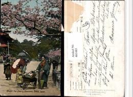 481485,Japan Tokio Under The Cherry Blossoms Kirschblüte Kinderwagen - Ohne Zuordnung