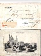 481725,Argentina Parana Plaza De Mayo Platz Kirche Brunnen - Argentinien
