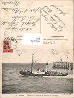 479411,Hochseeschiff Schiff Calais Champion Bateau De La Chambre De Commerce - Handel