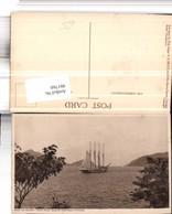 481760,Trinidad Boca De Monos From Point Baleine Verandah Segelschiff - Ansichtskarten