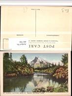 481786,Alberta Banff National Park Mount Rundle Bergkulisse - Alberta