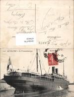 479410,Hochseeschiff Schiff Le Havre Le Transatlantique Chicago - Handel