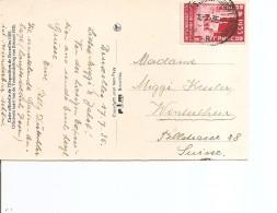 Exposition De Bruxelles -1935 ( Carte Postale De Belgique De 1935 De Bruxelles Vers La Suisse à Voir) - 1935 – Brussels (Belgium)
