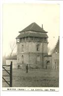"""Carte Photo 1952 Maing (59)  """"Le Castel Des Près """" Gros Plan, Personnage - France"""
