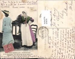 479870,Type Marseillais Poissonniere Frauen Volkstypen Europa - Europe