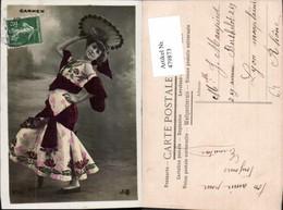 479873,Carmen Tänzerin Tracht Spanien Volkstypen Europa - Europe