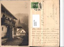 482043,Glaris Glarus Motiv Haus Kirche - GL Glarus