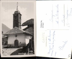 457387,Rhone-Alpes Savoie Chapelle Du Bersend Kapelle Kirche Turm - Frankreich