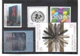GUT1056 UNO NEW YORK 2002 Michl 912 + 920/22 + 923/24 ** Postfrisch SIEHE ABBILDUNG - New York -  VN Hauptquartier
