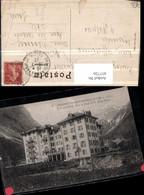 457726,Rhone-Alpes Savoie Pralognan-la-Vanoise Grand Hotel Bergkulisse - Frankreich