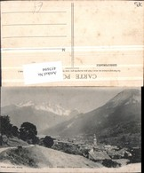 457694,Rhone-Alpes Savoie Bozel Vue Generale Totale Bergkulisse - Frankreich