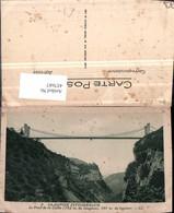 457687,Rhone-Alpes Savoie Pont De La Caille Brücke - Frankreich