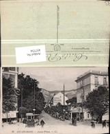 457734,Rhone-Alpes Savoie Aix-les-Bains Avenue Wilson Straßenansicht - Frankreich