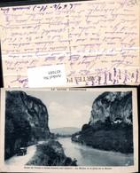 457685,Rhone-Alpes Savoie Route De Yenne Saint-Genix-sur-Guiers Fluss - Frankreich