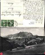 457678,Rhone-Alpes Savoie Flumet Col Des Aravis Mont-Blanc Bergkulisse - Frankreich