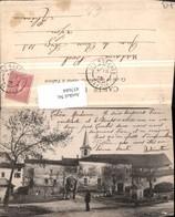 457684,Rhone-Alpes Savoie Les Marches Teilansicht Kirche - Frankreich