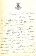 Brief Lettre Handtekening - Volksvertegenwoordiger Alb. Mechelynck Gent 1923 - Zonder Classificatie