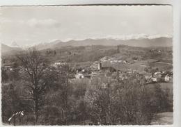 CPSM GAN (Pyrénées Atlantiques) - Vue Générale Et Les Pyrénées à Gauche Pic Du Midi D'Ossau (2877 M) - Altri Comuni
