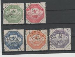 Tur / A85 - E85,  Thessalien, April - Juni 1898 Verwendet. - Used Stamps