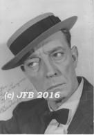 Buster Keaton - Autographes