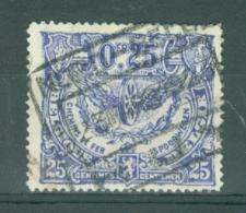 """BELGIE - OBP Nr TR 103 -  Cachet   """"NORD-BELGE - HUY 1"""" - (ref. AD-5616) - 1915-1921"""