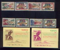 AFRIQUE - Rép. Du Congo : Timbres COB 507/513 Neufs + 508 Impression Recto-verso + Rép Rwandaise Feuillets « EUROPA » -> - Timbres