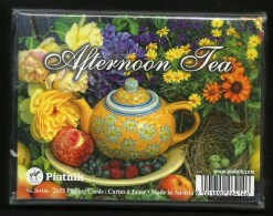 Playing Cards Afternoon Tea, Piatnik, Austria, New, Sealed, 2 Decks - Playing Cards (classic)