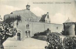 34 SERVIAN Ses Environs Château De L'hermitage   2 Scans - France