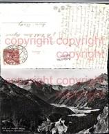 460373,Blick V. Maloja-Kulm Ins Bergell Casaccia Bergkulisse Kt Graubünden - GR Grisons