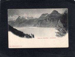 "62845     Svizzera,  Route De L""Axenstein,  Urirothstock,  NV - UR Uri"