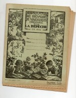 Concours De Devoirs De Vacances Organisé Par  LA DEPECHE En 1943 - Bambini