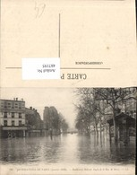 487195,Überschwemmung Inondations De Paris Boulevard Diderot Angle De La Rue De Bercy - Überschwemmungen
