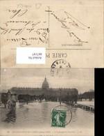 487197,Überschwemmung Inondations De Paris L Esplanade Des Invalides 1910 - Überschwemmungen