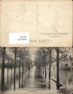 487191,Überschwemmung Bougival Vue Sur Les Quais 1910 - Überschwemmungen