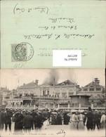 487199,Brand Trouville L Incendie Du Casino Kasino Schaulustige Brennendes Gebäude - Katastrophen