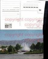 461402,Kyrgyzstan Kirgisistan Bischkek Bishkek Frunse Frunze Springbrunnen Bergkuliss - Ansichtskarten