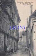 CPSM 9X14 De CHABLIS (89) -  Maison De BOIS Rue RAMPONT-LECHIEU - ANIMATIONS  édit GRONNIER - Chablis