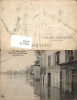 487192,Überschwemmung Crue De La Seine Bougival Un Quai Devaste 1910 - Überschwemmungen