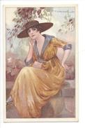 15061 - Corbella Femme Chapeau Assise 282-4 - Corbella, T.