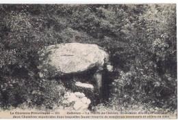 CELLETTES LA PIERE DU CLUZEAU MONUMENT DRUIDIQUE ABRITANT DEUX CHAMBRES SEPULCRALES - Unclassified