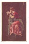 15066 - Corbella  Femme Assise  160-3 - Corbella, T.