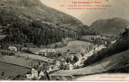 CPA -  VALLEE DE LUCHON - PONT DE CAZAUX - VUE GENERALE ET ROUTE DE LUCHON -620 - LABOUCHE  - T. B. E. - Luchon