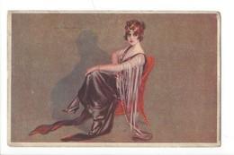 15074 - Corbella   Elégante Femme Assise   389-1 - Corbella, T.
