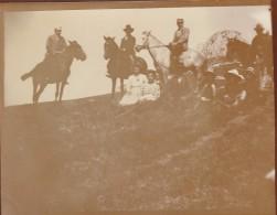 Romania - 1900 - Petrecere La Munte - Photo 115x85mm - Lieux