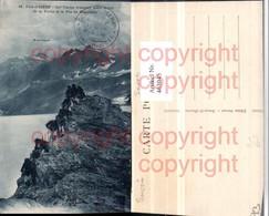 463045,Rhone-Alpes Savoie Val-d'Isere Frontiere Entre Le Col Vache Soldaten Bergkulis - Frankreich
