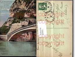 463052,Rhone-Alpes Savoie Yenne Pont De La Balme Sur Le Rhone Brücke - Frankreich