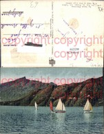 463259,Rhone-Alpes Savoie Lac Du Bourget Voiliers Et Dent Du Chat See Segelboote - Frankreich