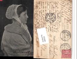 489310,Frankreich Foissiat Französische Tracht Frau Haube - Costumes