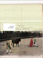 489372,Corrida De Toros Peon Ayudando Al Matador Stierkampf Stier - Stierkampf
